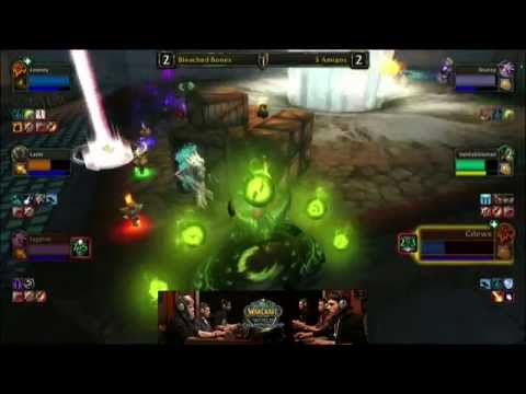 3 Amigos Vs. Bleached Bones - Semi-finals - WoW Arena World Championship 2014