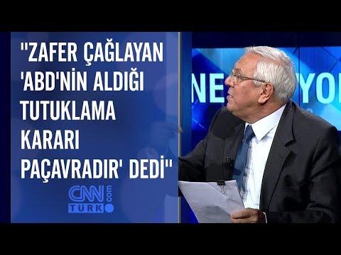 """""""Zafer Çağlayan 'ABD'nin aldığı tutuklama kararı paçavradır' dedi"""""""