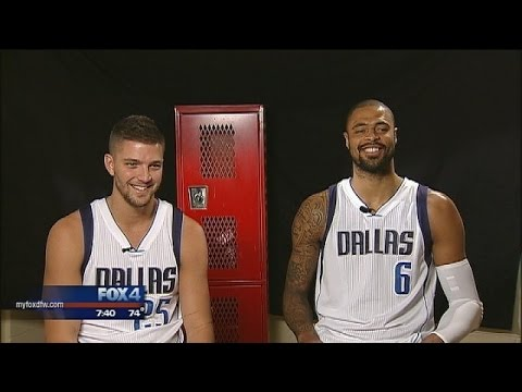 Chandler Parsons and Tyson Chandler