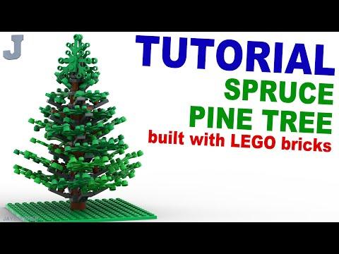 Tutorial - Lego Pine Tree