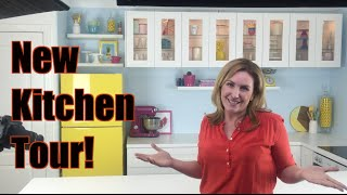 NEW KITCHEN TOUR! We have a new MCA Kitchen!!