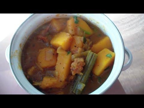 How to make pumpkin pulusu (Gummadi kaya ) full method in telugu