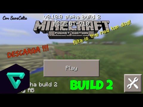 Ya Salio Minecraft PE 0.10.0 Alpha Build 2 Android 2.3 Y Superior Review Español Oficial