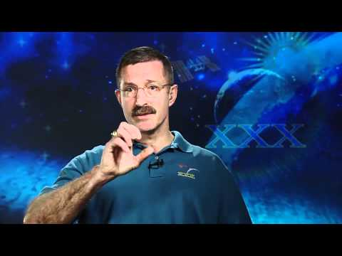 Astronaut Dan Burbank Conducts Satellite Interviews