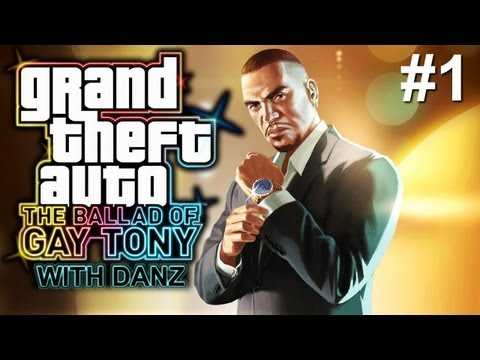 GTA IV: TBoGT w/ Danz Pt1 THE BEGINNING