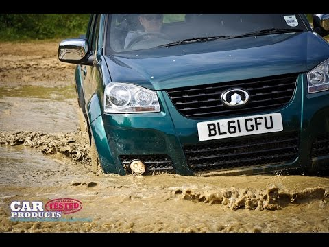 Great Wall Steed S Pickup Truck Review - 4x4 system tested in slick mud