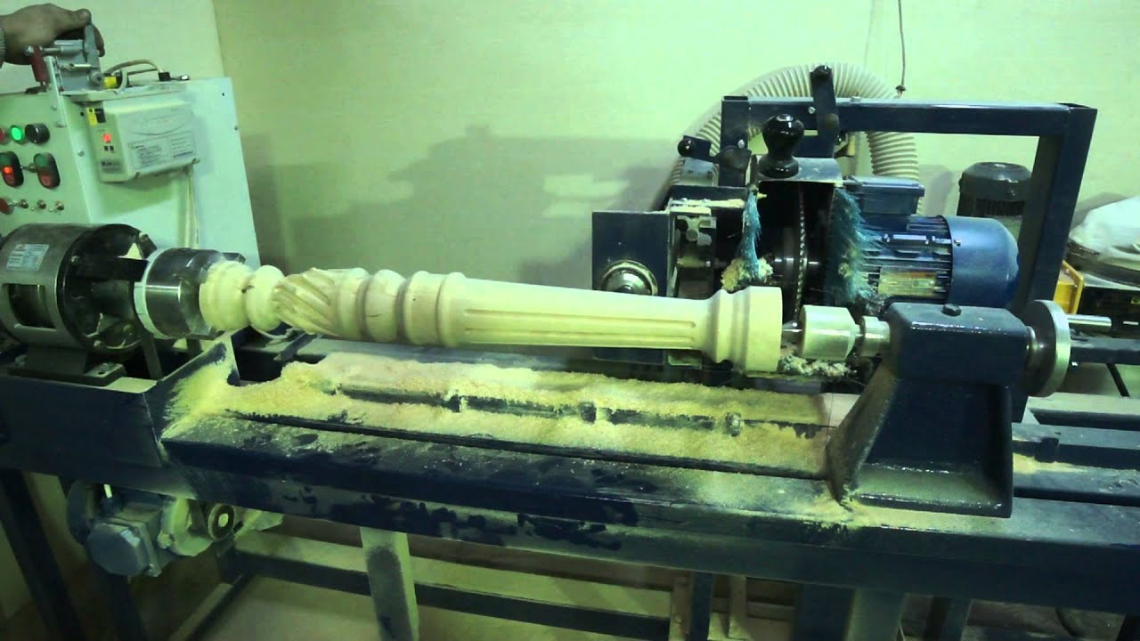 Копировально токарный станок своими руками с применением фрезера