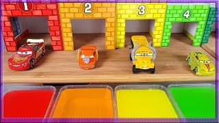Learn Colors and Numbers with Disney Cars 3 Lightning Mcqueen and Friends