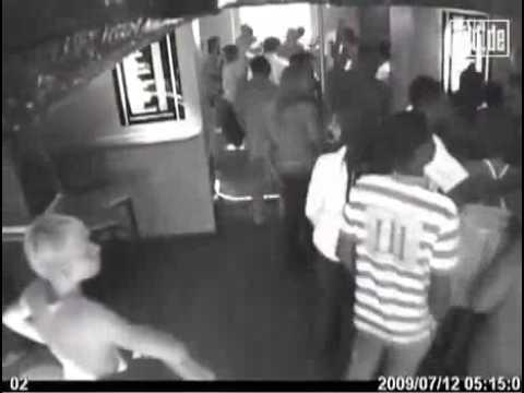 BILD DE Gustav's video in the club before the attack