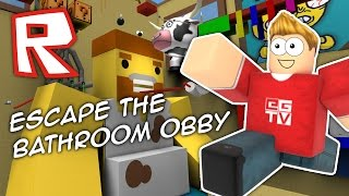 ESCAPE THE BATHROOM | Roblox Obby