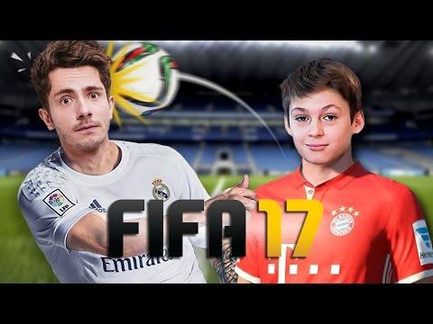 Arthur 12 Ans Clash Guillaume Pley Sur Fifa 17 Gamepley