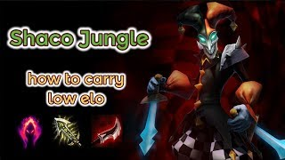 Shaco carrying low Elo - EUNE to Diamond [League of Legends] Full Gameplay - Infernal Shaco