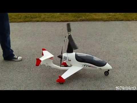 Testflug Arrow Copter AC-10 Gyrocopter von Unique Model Tech: 9707359