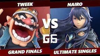 Glitch 6 SSBU - Tweek (Wario) VS NRG | Nairo (Lucina) Smash Ultimate Grand Finals