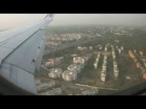 SpiceJet Boeing 737-800 Mumbai(Bombay) to New Delhi Good Weather (Landing + TakeOff)