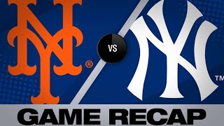6/11/19: Mets smash 3 homers in 10-4 win versus Yanks