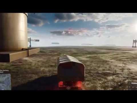 Battlefield 4: Baku - Out of Map (Exploration 1/2)