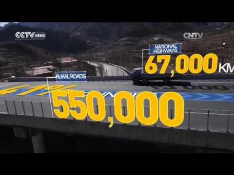 China 13th Five-Year Plan: China's transportation network
