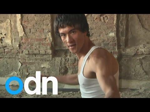 Is This Man Bruce Lee's Reincarnation...in Afghanistan? video