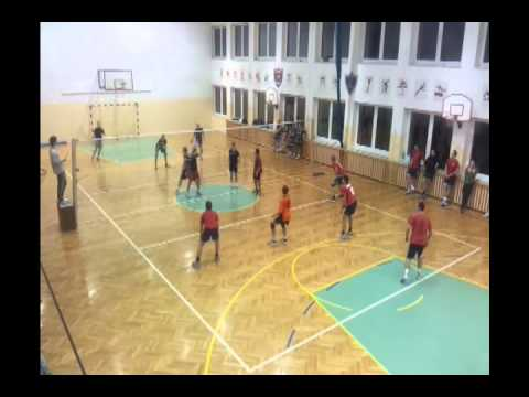 Badger Badgers - UR GeoVolley Team (0:2) - Cały Mecz