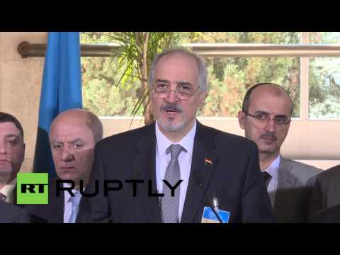 Switzerland: Syrian govt will return on Monday to continue Geneva talks - Jaafari