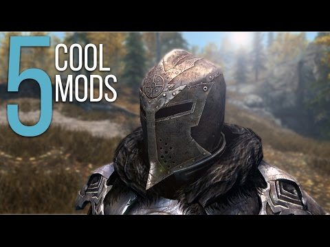 PS4 MODS - 5 Cool Mods - Episode 5 - Skyrim: Special Edition Mods (PC/Xbox One)