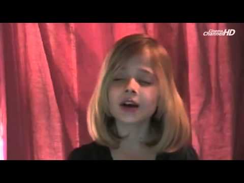 Jackie Evancho   Concrete Angel video