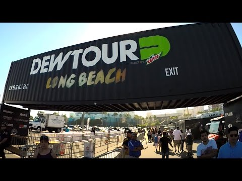 Dew Tour Long Beach Vlog Feat. Theotis Beasley, Nick Tucker & Action Bronson - A Day With Nka