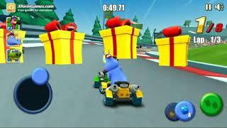 Go Kart Go! Freddy Flamingo Race in Racetracks Gameplay Android HD
