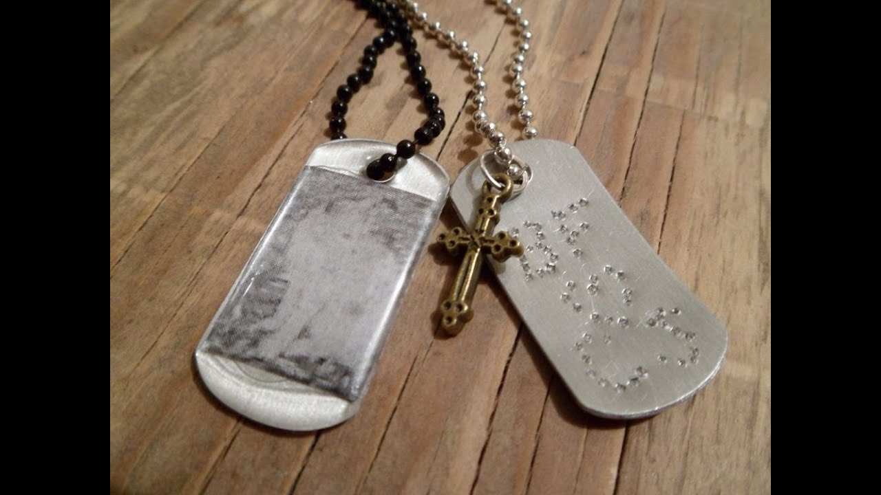 How To Make Dog Tag Jewelry