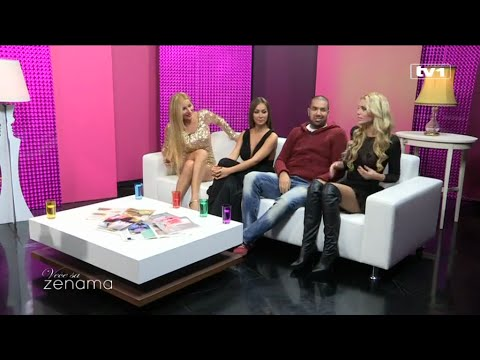 Vece sa ženama (TV1 3.12.2014) (Slađa Guduraš , Maca , Huso Cobic i Ava Karabatic)