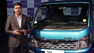 Mr. Girish Wagh, President, Tata Motors Commercial Vehicles  at the TATA INTRA Launch in Chennai