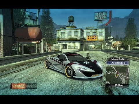 Burnout Paradise: McLaren P1