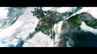 Teenage Mutant Ninja Turtles Snow Mountain Chase Scene HD