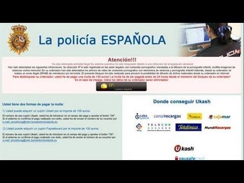 Como Remover La Policia Espanola Virus En Windows 8