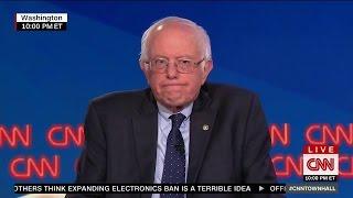 Bernie Sanders Rips CNN Host To Her Face