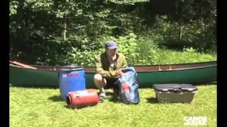 packing a canoe for overnight