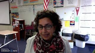 Video Summary of January 15 Parent Meeting