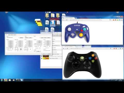 How to set up an Xbox 360 controller in Dolphin Gamecube/Wii emulator