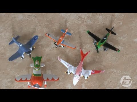 Disney Planes major unboxing