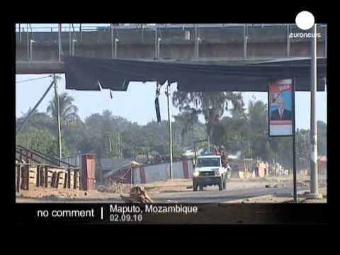 Mozambique : second day of riots - no comment
