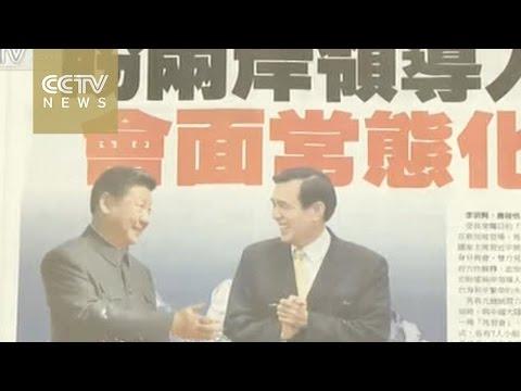 Xi and Ma dominate Taiwan media
