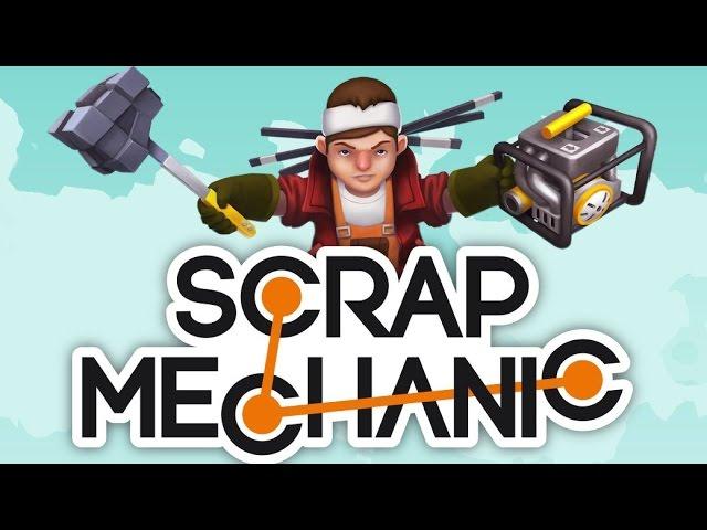 Превью Scrap Mechanic - уникальная смесь Robocraft и Space Engineers