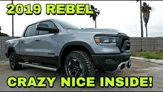 2019 RAM REBEL Must see review! Part 2: Interior and Driving