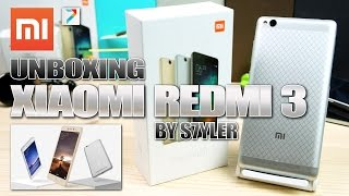 Xiaomi Redmi 3 (Unboxing) 5.0 Inch, Snapdragon 616, 4100mAh, Metal body // Video by s7yler