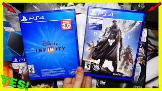 2 EPIC PS4 GAMES!!! (FREE) Gamestop Dumpster Diving Night #519