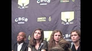 Pussy Riot Press Conference - Feb. 5