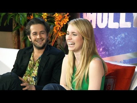 Emma Roberts & Michael Angarano: Fashion Police