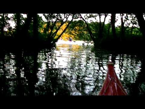 04 - Kajakken op het Paterswoldsemeer op 20-07-2011 Video