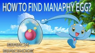 Roblox: Pokemon Brick Bronze - HOW TO GET MANAPHY! - (Ended)